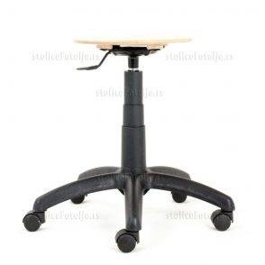 Laboratorijska stolica 1030 Zon Wood