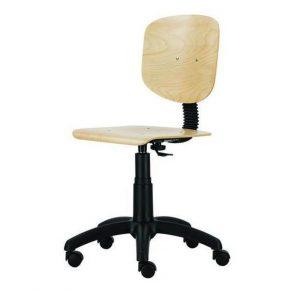 Laboratorijska stolica 1030 Nor Wood