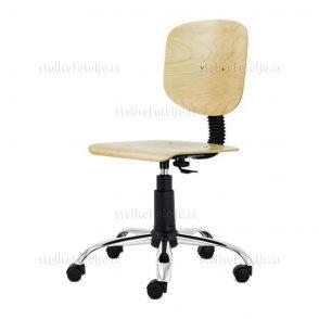Laboratorijska stolica 1030 Nor Wood Cr