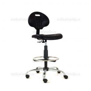 Laboratorijska stolica 1290 Nor Cr Antistatik