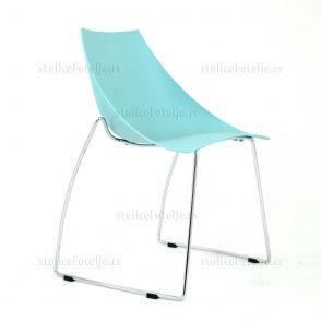 Konferencijska stolica Ski Blue
